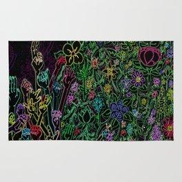 Hands & Flowers Rug