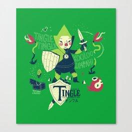 the legend of tingle Canvas Print