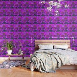 Rhododendron Fuscia Pink Wallpaper