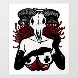 Love Will Be My Downfall Art Print