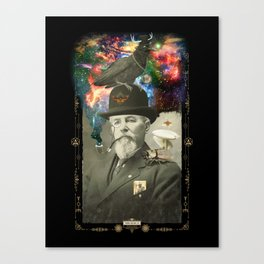 Odd Scientist Canvas Print