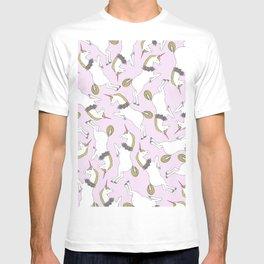 Unicorn Pattern T-shirt
