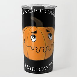The scared Pumpkin! Halloween Travel Mug