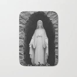 Blessed Mother Bath Mat