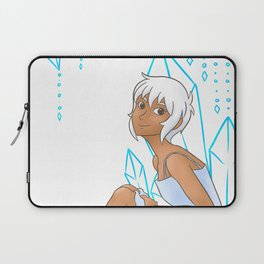 Isabelle and crystals Laptop Sleeve