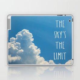 Sky's the limit - cloudscape Laptop & iPad Skin