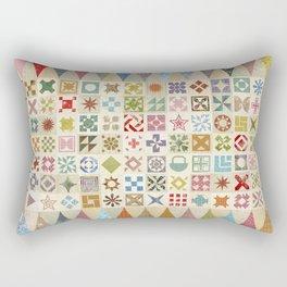 Jane's Addiction to Quilting Rectangular Pillow