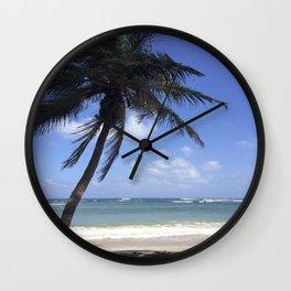 Palm Breeze Wall Clock