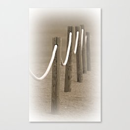 Remembering The Seaside Canvas Print