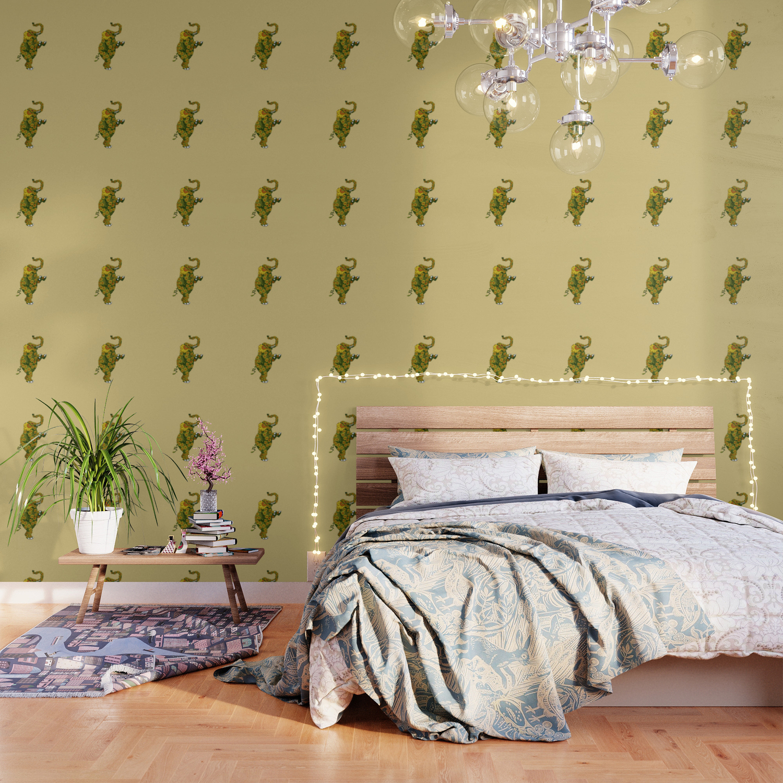 Elephant Sunflower Wallpaper
