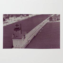 Holland Harbor Lighthouse Rug