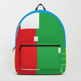 Simple Color Backpack