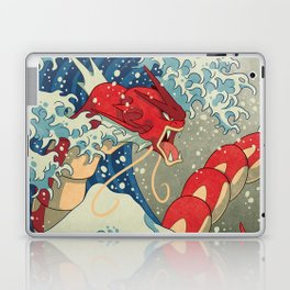 The Great Red Wave Laptop & iPad Skin