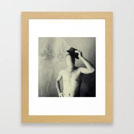 Mr. Nobody Framed Art Print