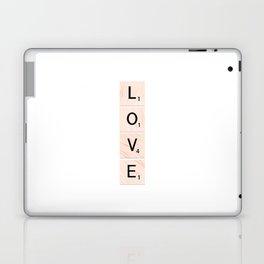 Scrabble LOVE Vertical Laptop & iPad Skin