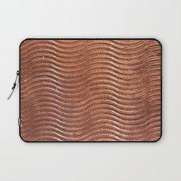 Copper wave Laptop Sleeve