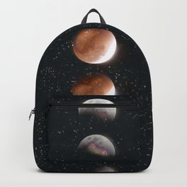 Phases of the Moon II Backpack
