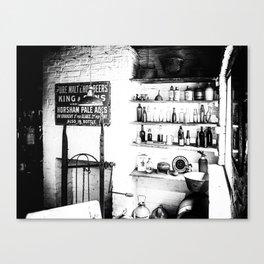 Vintage Shop Canvas Print