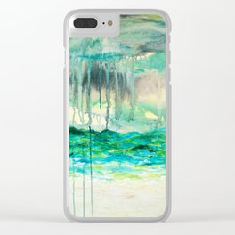 Paz Clear iPhone Case