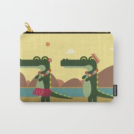 Crocodiles Hula Hula Carry-All Pouch