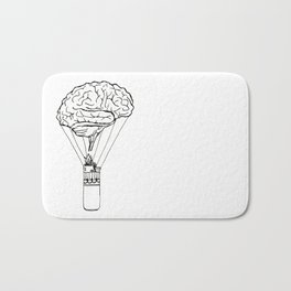 Light up my brain Bath Mat