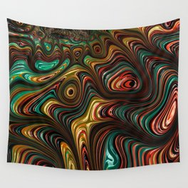 Trippy Fractal Wall Tapestry