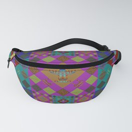 Indian patchwork26 Fanny Pack