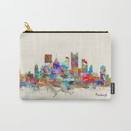 Pittsburgh Pennsylvania skyline Carry-All Pouch