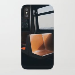On my way / New York City subway iPhone Case
