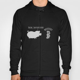 Bacon I Am Your Father - Nooo!- Funny Pork Pig Hoody