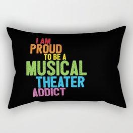 Musical Theater Pride Rectangular Pillow
