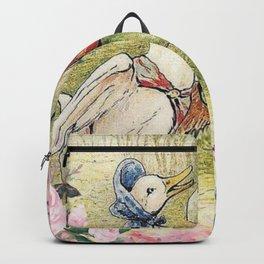 Jemima Puddle-Duck Floral Backpack