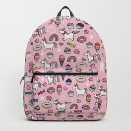 Pink Unicorns & Sweet Daydreams Backpack