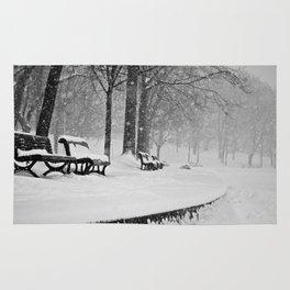 Winter in Montreal Rug
