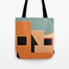 Summer Urban Landscape Tote Bag
