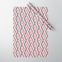 Pink Navy Diamond pattern by apricotjam