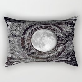 Moon Glow Rectangular Pillow