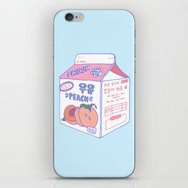 Peach Milk iPhone Skin