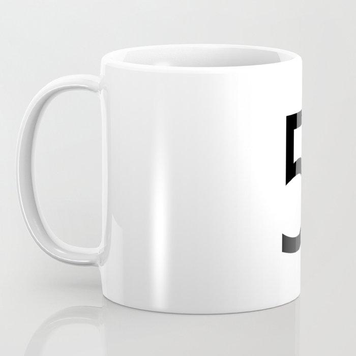5 - Five Coffee Mug