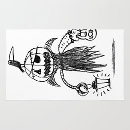 Jack o latern Rug