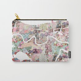 New Orleans map landscape Carry-All Pouch