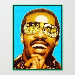 """STEVIE WONDER: iWONDER"" Canvas Print"