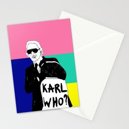 KARL WHO Stationery Cards