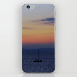 Sunset on the Water iPhone Skin
