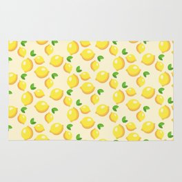Lemon limon seamless art colour lines triangle look rest eyes color new artist fun mixed pattern swe Rug