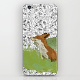 Sunning Fox iPhone Skin