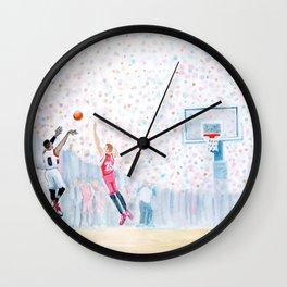 A Three Wins the Series Wall Clock