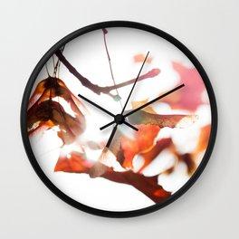 Autumn Sonata II Wall Clock