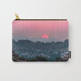 Otherworldly sunrise of Hampi, India Carry-All Pouch