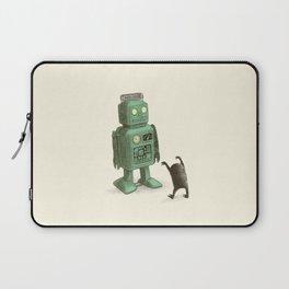 Robot vs Alien Laptop Sleeve